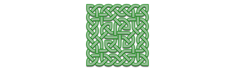 Square Celtic Knot Artwork
